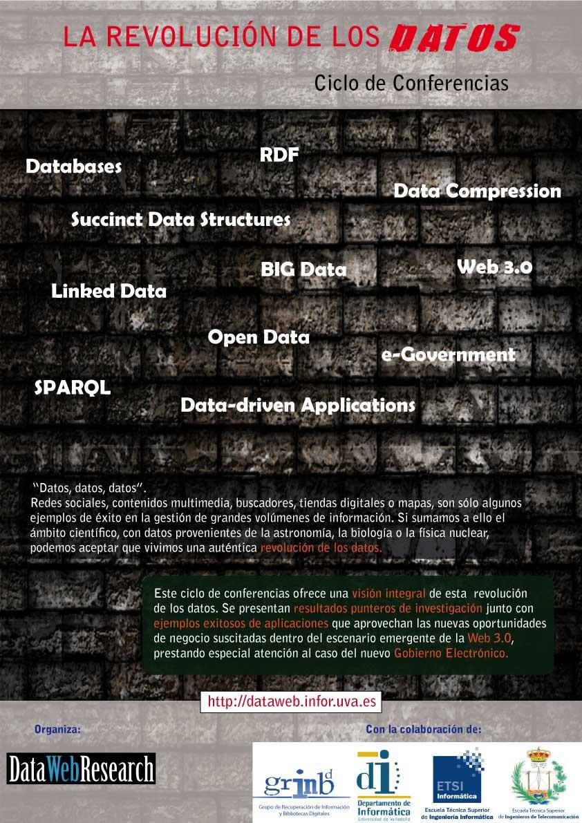 """""""La Revolución de los Datos. Ciclo de Conferencias"""""""